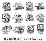 airline flights  air transport...   Shutterstock .eps vector #1945411732
