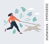cartoon vector illustration of...   Shutterstock .eps vector #1945418332