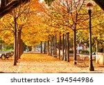 Nice Park In Autumn