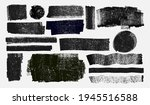 grunge elements for social... | Shutterstock .eps vector #1945516588