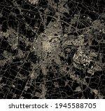 Map Of The City Of Padua ...