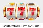golden slot machine wins the...   Shutterstock .eps vector #1945648105