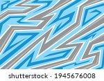 abstract blue background with...   Shutterstock .eps vector #1945676008
