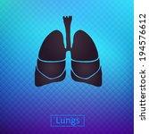 lungs | Shutterstock .eps vector #194576612