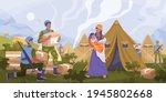 peacekeepers humanitarian aid... | Shutterstock .eps vector #1945802668