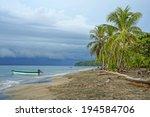 Caribbean Beach With...
