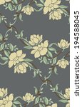 seamless pattern with beautiful ... | Shutterstock .eps vector #194588045
