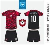 soccer jersey or football kit... | Shutterstock .eps vector #1945918318