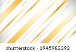 abstract gray and gold stripes... | Shutterstock .eps vector #1945982392