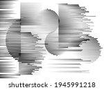 speed lines in arrow form .... | Shutterstock .eps vector #1945991218