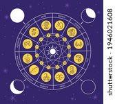 Zodiac Circle.astrology Circle. ...
