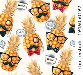Seamless Pattern With High...