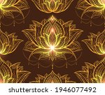 seamless tribal pattern with...   Shutterstock .eps vector #1946077492