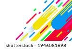 abstract minimal geometric... | Shutterstock .eps vector #1946081698