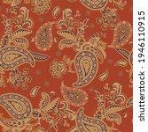 paisley vector seamless pattern.... | Shutterstock .eps vector #1946110915