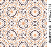 seamless texture with arabic... | Shutterstock . vector #1946127748