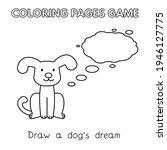 funny dog kids learning game.... | Shutterstock . vector #1946127775