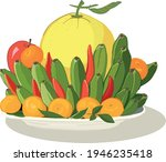 "vietnamese ""tet"" holiday...   Shutterstock .eps vector #1946235418"