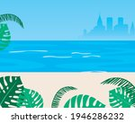 sea as a template for overlay... | Shutterstock .eps vector #1946286232
