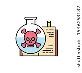 Toxicology Color Line Icon....