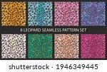 leopard skin fashion seamless...   Shutterstock .eps vector #1946349445