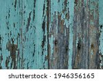 Old Rustic Wooden Planks Wall...