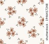 seamless minimalist doodle... | Shutterstock .eps vector #1946417248