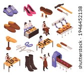 shoes repair manufacturing...   Shutterstock .eps vector #1946452138