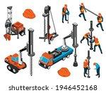 driller engineer uniform helmet ... | Shutterstock .eps vector #1946452168