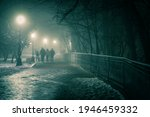 Alley Of A Night Winter Park In ...