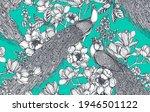 vector seamless pattern of... | Shutterstock .eps vector #1946501122