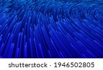blue illustration with lines....   Shutterstock . vector #1946502805