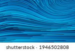 blue illustration with lines....   Shutterstock . vector #1946502808