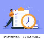 time management concept... | Shutterstock .eps vector #1946540062
