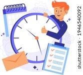 time management concept...   Shutterstock .eps vector #1946540092