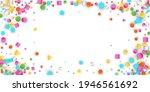 colored carnaval confetti...   Shutterstock . vector #1946561692