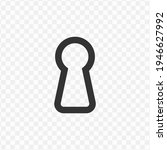 transparent keyhole icon png ...