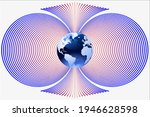 magnetic field   north and...   Shutterstock .eps vector #1946628598