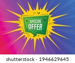 special offer tag  special...   Shutterstock .eps vector #1946629645