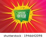 special offer tag  special...   Shutterstock .eps vector #1946642098