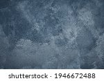 navy blue painted old shabby...   Shutterstock . vector #1946672488