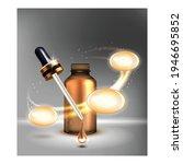 cosmetics facial serum...   Shutterstock .eps vector #1946695852