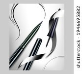 eyeliner pencil creative... | Shutterstock .eps vector #1946695882