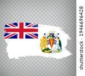 flag british antarctic...