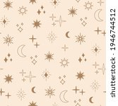 boho astrology and star... | Shutterstock .eps vector #1946744512
