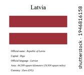 latvia national flag  country's ...   Shutterstock .eps vector #1946816158
