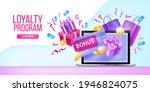 loyalty program  customer gift...   Shutterstock .eps vector #1946824075