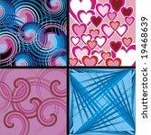 textures   Shutterstock .eps vector #19468639