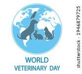 illustration world veterinary... | Shutterstock .eps vector #1946879725