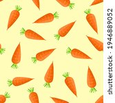 carrot seamless pattern.... | Shutterstock .eps vector #1946889052